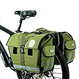 TFXSD M Fahrrad Gepäckträgertasche Doppeltasche 45l Packtasche Mit Reflektorstreifen...