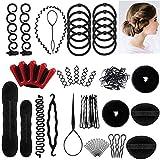 Ealicere 25pcs Haare Frisuren Set,Haar Zubehör styling set,Hair Styling Accessories Kit Set Haar...