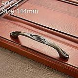 Hardware Handles 6047-128 Möbelgriffe, sehr stabil, Edelstahl, galvanisiert, Cyan, leicht zu...