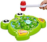 Think Gizmos Interaktiver Schlag den Frosch TG702 - lustiges Spielzeug für Jungen und Mädchen im...