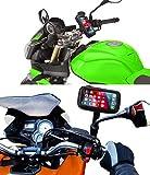 Handyhalterung motorrad kompatibel mit Samsung Galaxy A10 mit Ladegerät Schnellladung 2.1A...