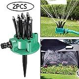 ASPZQ Bewsserungsnudelkopf Flexibles 360-Grad-Wassersprinklerspray, Dsenrasen...
