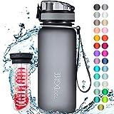 720DGREE Trinkflasche uberBottle +Frchtebehlter - 650ml - BPA-Frei - Auslaufsichere Wasserflasche fr...
