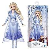 Hasbro Disney Die Eisknigin II Elsa Puppe mit langem blondem Haar und blauem Outfit E6709ES0