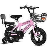 GAIQIN Langlebig Kind Fahrrad, Gleichgewicht Bike, Twin-Tube Alurahmen, 12-18 Zoll Fat Tire Bike mit...