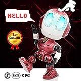 Peradix Roboter Kinder Spielzeug Spaß Aufnahme , Intelligenter Roboter Bildung Spielzeug für...