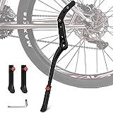 Migimi Fahrradständer, Seitenständer Höhenverstellbarer Aluminiumlegierung 24-29 Zoll Universal...
