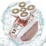 Elektrischer, kabelloser Epilierer für Damen, wasserdicht, schmerzfrei, elektrisch, Rasierer für...