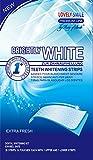 Lovely Smile | 28 WHITE-STRIPS Bleaching Stripes Zahnaufhellung-Streifen | mit advanced no-slip...