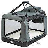 ONVAYA® Faltbare Transportbox für Hunde & Katzen | M | Faltbare Hundebox oder Katzenbox für Auto...