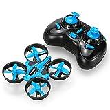 Mini Quadrocopter Drohne, JJRC H36 Mini Quadcopter Drone Spielzeug Geschenk Kinder Anfnger Blau