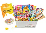 Japanische Süßigkeitenbox mit englischem Pamphlet 30 Stück Dagashi, Süßigkeiten, Snacks,...