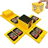 TUSNAKE Spielkartenhalter für Nintendo Switch,Passend für bis zu 16Nintendo Switch Spiele...