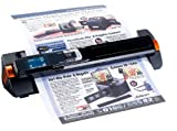 Somikon Dokumentenscanner: 2in1-Scanner: mobiler Handscanner mit Dockingstation 900 DPI (Hand Einzug...