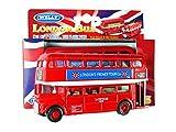 London roten Doppeldecker-Bus-Modell (Pull Back & Go Aktion) Hergestellt aus Metalldruckguss und...