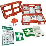 Betriebsausstattung24® Erste-Hilfe-Koffer Komplettset für Betriebe nach DIN | Verbandskasten inkl....