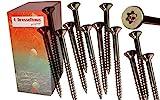 Torx Spanplattenschrauben 5,0 x 60 mm, Dresselhaus JD79, I-Stern, 500 Stk/Paket