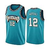Grizzlies Herren Basketball Trikot Morant Swingman Jersey # 12 M E