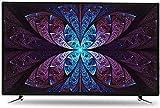 QDY Smart TV 50 Zoll Curved WiFi LCD TV, 1920 * 1280 Auflösung, HDR Bildqualität...