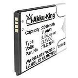 Akku-King Akku kompatibel mit Alcatel TLi019B2 TLi020F1 - Li-Ion 2000mAh - fr One Touch 7040, 7041,...