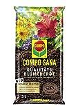 COMPO SANA Qualitts-Blumenerde mit 12 Wochen Dnger fr alle Zimmer-, Balkon- und Gartenpflanzen,...