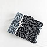 Decke Nordic Knitted Throw Thread Sofa Decke Quaste Decke Super Soft Decke Verdicken Baumwolle Decke...