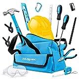Hi-Spec 18-teiliges Kinder-Werkzeugset mit echten Handwerkzeugen, einschließlich Sicherheitbrille...