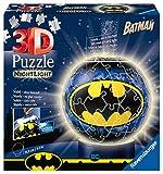 Ravensburger 3D Puzzle 11080 - Nachtlicht Puzzle-Ball Batman - 72 Teile - ab 6 Jahren, LED...