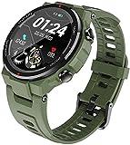 Smart Watch 1,3 Zoll Silikon Sportuhr IP68 Wasserdicht Business Freizeit Fitness Tracker...