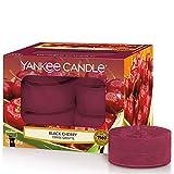 Yankee Candle Duft-Teelichter   Black Cherry   12 Stück