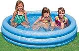 Trendyshop365 Intex Aufblasbarer Kinderpool Rund 163 x 38 cm Planschbecken Blau (2 Stück)