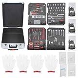 Haushaltshand Werkzeugsatz, Aramox 969 Stück/Set Werkzeugkoffer Werkzeugkasten Werkzeug...