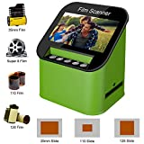 Diascanner und 4.3 Zoll TFT LCD Display 22MP All-In-1-Film Multiscanner fü Film/Slide, super 8...