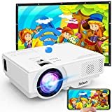 [WiFi Beamer] Jinhoo 4500 Lumens Wireless Beamer Untersttzt 1080P Full HD, Native 720P HD Mini WiFi...