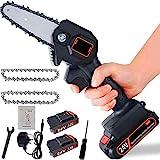 Mini-elektro-säge, Akku-handkettensäge Mit Ladegerät Und 2 Batterien, Elektrische Schnittsäge -...