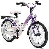 BIKESTAR Kinderfahrrad für Mädchen ab 4-5 Jahre | 16 Zoll Kinderrad Classic | Fahrrad für Kinder...
