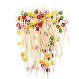 Beatrice Grantham710061 100 Stück/Packung mit Blumenstern, Gabel, Buffet, Cupcake-Topper,...