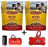 Zuke's Natural Training Hundeleckerlis, Mini-Rezept, 2er-Pack (insgesamt 32oz insgesamt) inkl....