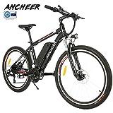 ANCHEER Elektrofahrrad 2019 Plus Faltbares Mountainbike, 36V 8Ah/12Ah Lithium-Batterie26 Reifen...