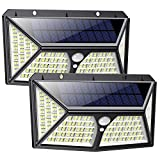 Solarlampen für Außen 254 LED, 【Automatische Beleuchtung】Feob Solarlampe für Außen mit...