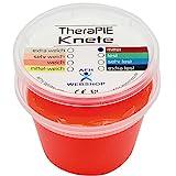 TheraPIE Knete, 454 Gramm (1 Pound), Therapie Knetmasse, Stärke Widerstand: mittel (rot)