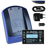 Akku + Ladegerät (Netz+Kfz+USB) NP-120 für Fuji F10, F11, M603 / Aiptek Medion Rollei Toshiba...