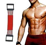 Winline Verstellbarer Chest Expander -Brust Expander - Trainingsgert fr Muskeln - 5 Strings mit...