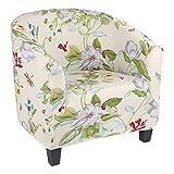 papasgix Sesselhusse Print Sesselbezüge Stretch Sesselschoner Sesselüberwurf Stuhl Sessel...
