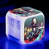 BZL POP Kinder-Nachtwecker, digital, Wecker, mit USB-Ladeanschluss, LED, LCD, bunt, beleuchtet,...