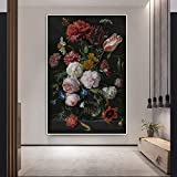GJQFJBS Classic Mona Lisa Lcheln Portrt Leinwand Kunstwerk Reproduktion Wohnzimmer Dekoration Bild...