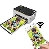 TANCEQI 10 × 15 cm Fotodrucker Mit Fortgeschrittener Sublimations-Tintendrucktechnologie & Mit...