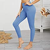 KSSPOI Damen Nahtloses Yoga-Set Gym Sport BH + Leggings Fitness Hose Laufanzug Trainingsbekleidung...