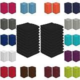 20er Pack Seiftücher Sparpreis in vielen Farben 30x30 cm 100% Baumwolle, Schwarz