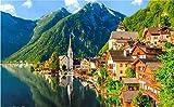 xpwan 1000 Stück Jigsaw in Hallstatt Austria Puzzle für Erwachsene hochwertige...